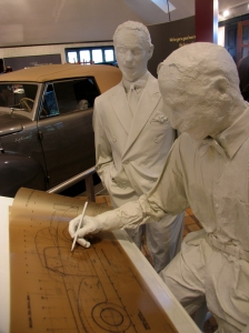 The beautiful 1941 Lincoln was developed on Edsel's watch