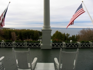 Mackinac Island's Grand Hotel has welcomed guests since 1887