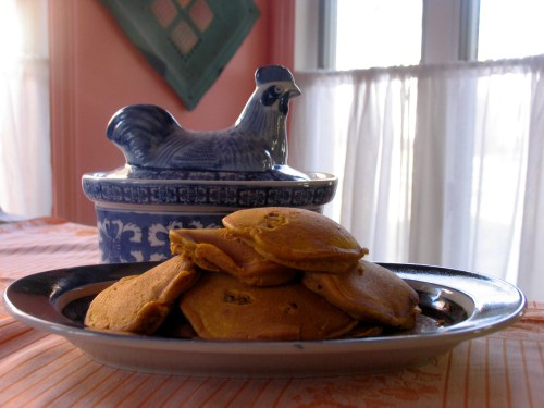 Pumpkin pancakes_5430