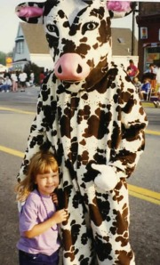 Holy, Cow---our baby is 17 already! One in a series of Paige with characters