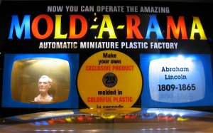 One of the do-it-yourself Amazing Mold-A-Rama machines at The Henry Ford Museum, Dearborn