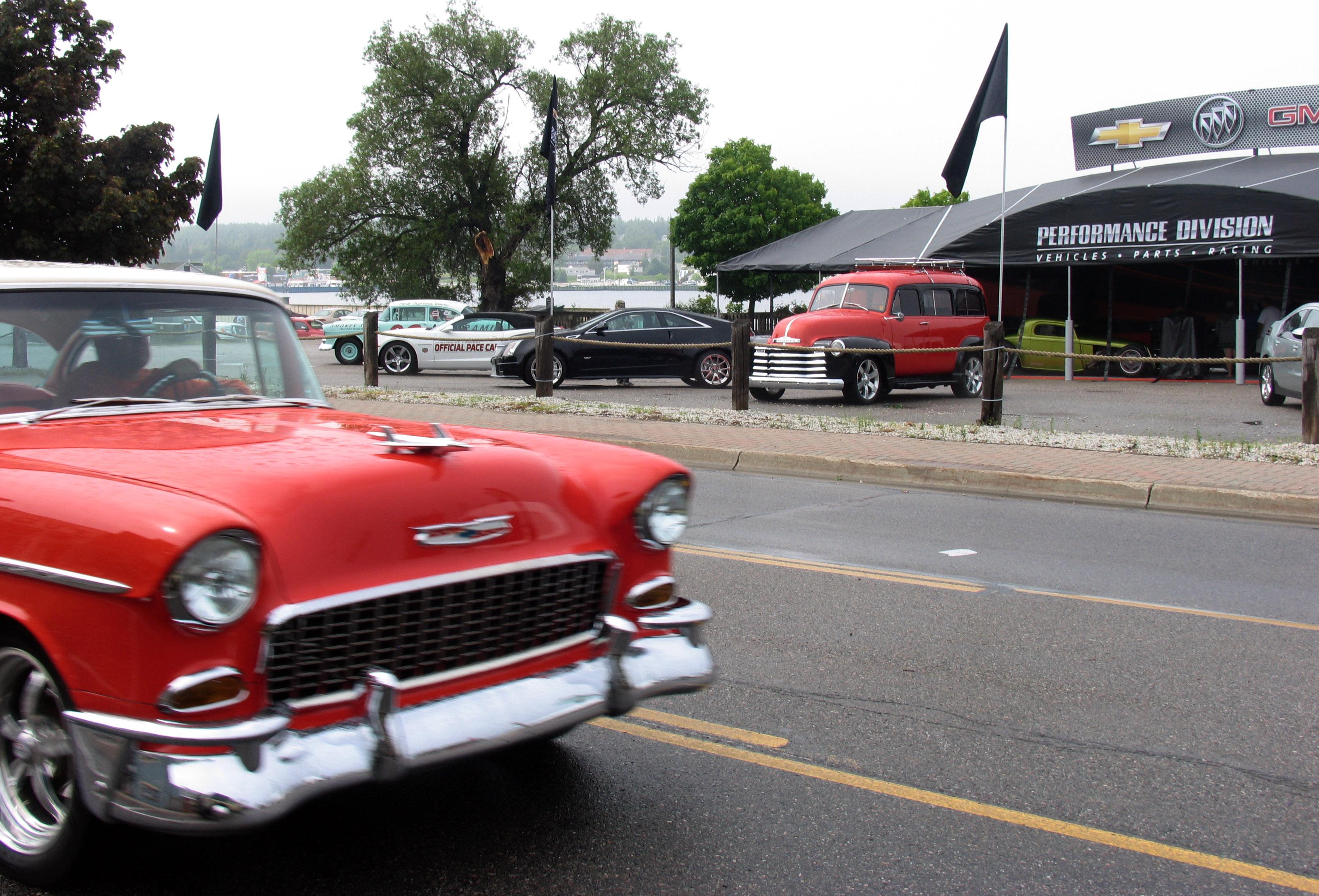 St Ignace Car Show Parade