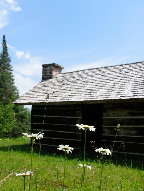 Old cabin, Grand Island