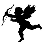 cupid silho Image GraphicsFairy