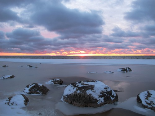 Lake Michigan sunrise