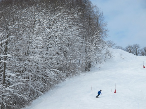 You don't have to ski any of the 55 runs on two mountains to enjoy Shanty Creek, Bellaire