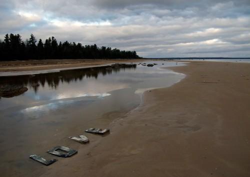 Lake Michigan beach, Upper Peninsula