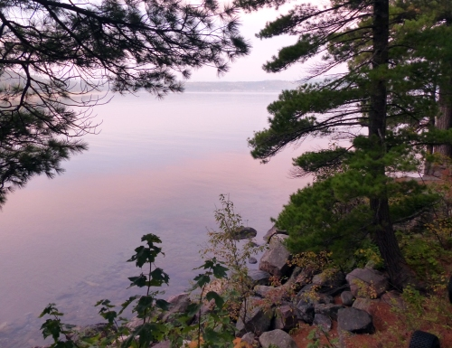 Good Morning, Lake Superior near Marquette
